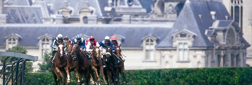 A weekend in Chantilly, an excellent place for horse-racing