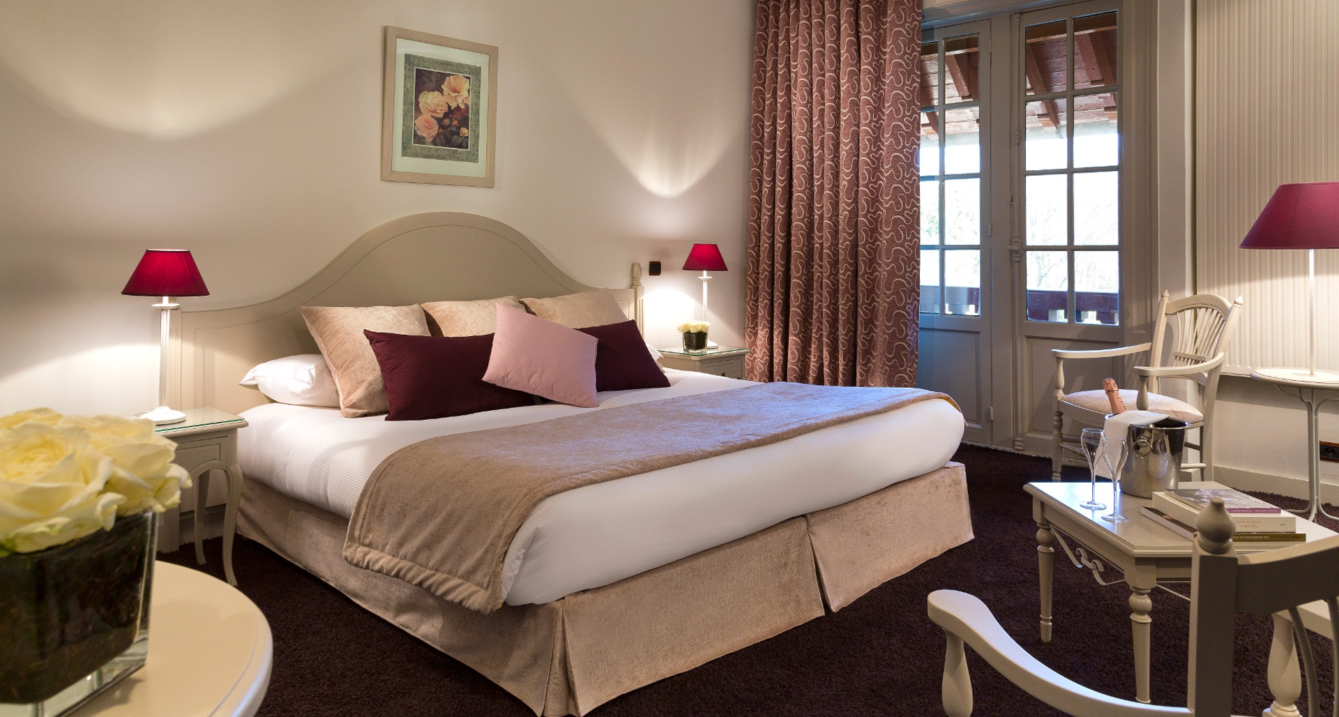 chambre deluxe hotel chantilly