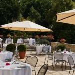 Le Vilargène restaurant Terrace