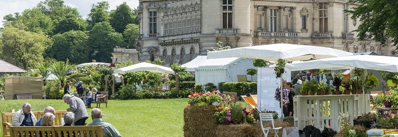 Chantilly Flower Festival, Flower Show