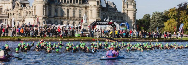 The Castle Triathlon Series at the Château de Chantilly