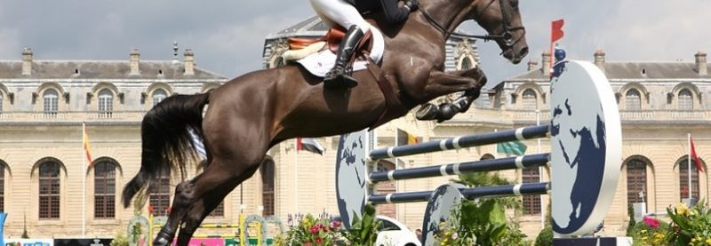 The world's show jumping elite meet at Chantilly