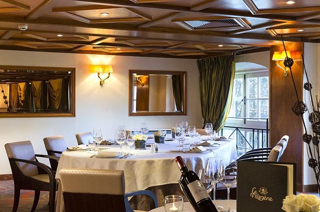Le Vilargène restaurant mezzanine