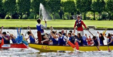 Dragon Boat Team building Chantilly