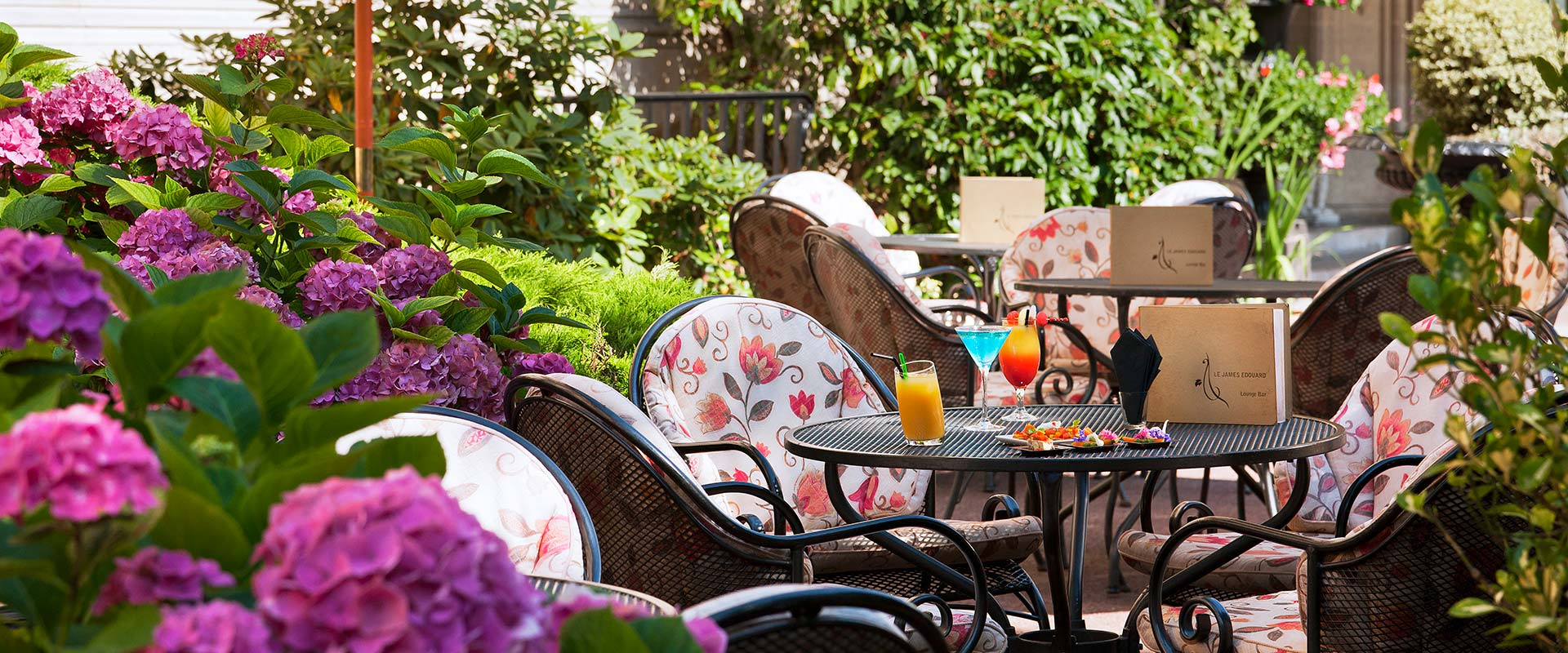 Bar James Edouard - Terrasse