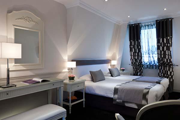 Chambre standard au château - hôtel de luxe à Chantilly, Ile-de-France