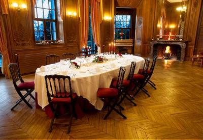 reception château hôtel 4 étoiles à Chantilly