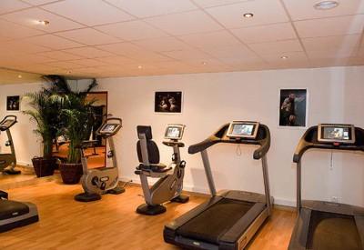 hôtel fitness - château hôtel Chantilly