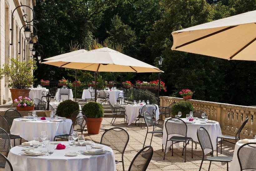 Terrasse du Restaurant Le Vilargène