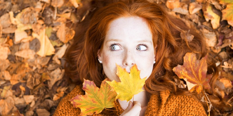 Femme automne