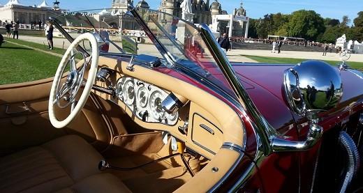 Chantilly Arts & Elégance Richard Mille: l'automobile de prestige choisit Chantilly!