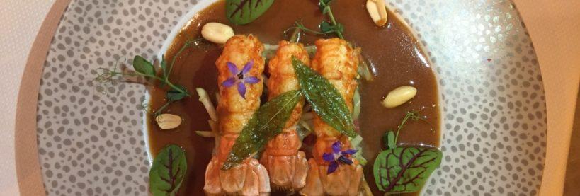 La recette du Chef : Langoustines sautées aux épices satay