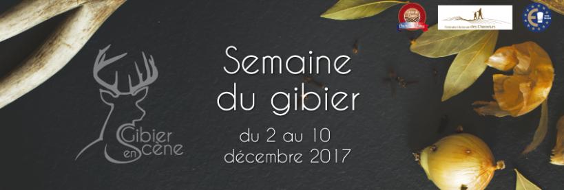 Opération Gibier en Scène – Du 2 au 10 décembre 2017