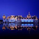 Château de Chantilly de nuit