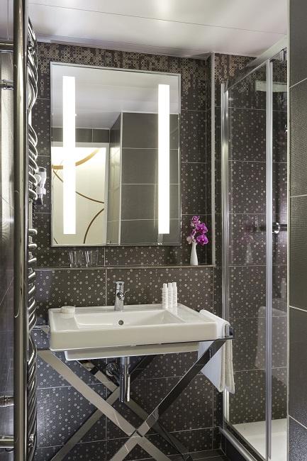 Salle de bain, chambre Standard Extension moderne